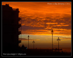 002:  January 2Marina sunrise