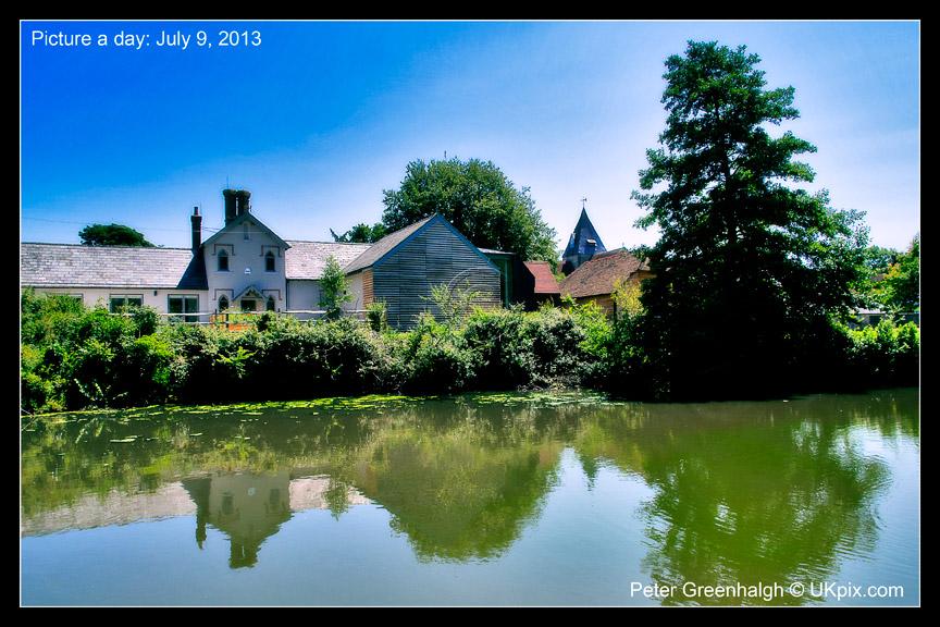 190: July 9Ditchling village pond